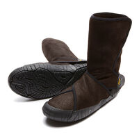 Furoshiki Shearling Mid-Cut Boot Dark Brown