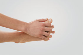 Vibram Foot Exercise Step 1